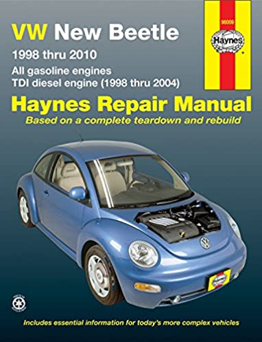 vw new beetle 1998 2010 repair manual haynes repair manual haynes rh amazon com 2000 Volkswagen New Beetle 2000 Volkswagen New Beetle