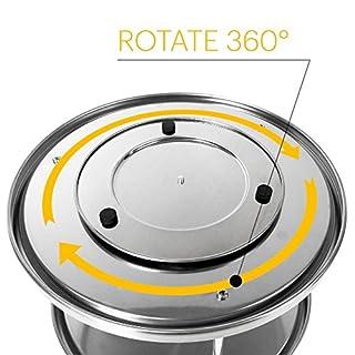 Kitchen Magic Two Tier Lazy Susan - rotates 360 degrees