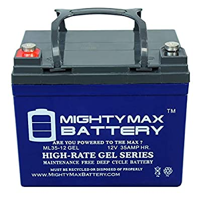 Mighty Max Battery 12V 35AH Gel Battery Replacement for Kubota G5200 Brand Product : Sports & Outdoors