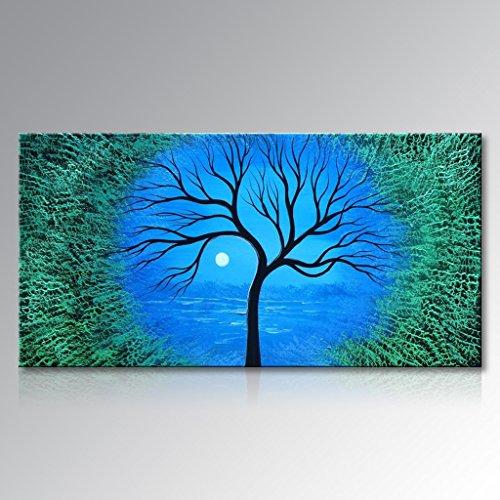 Seekland Art Handmade Abstract Tree Wall Deco Art Sunrise La
