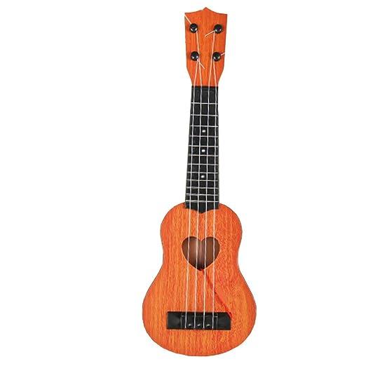 Beautyrain 1 PC Niños aprendiendo juguetes de guitarra Guitarra de ...