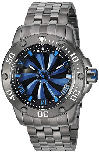 Invicta Men's Speedway Automatic-self-Wind Stainless-Steel Strap, Grey, 26 Casual Watch (Model: 25848)