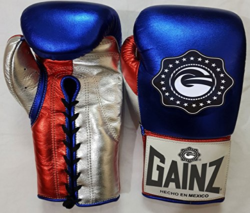 Professional And Training Boxing Gloves 100% Cowhide Leather by Gainz