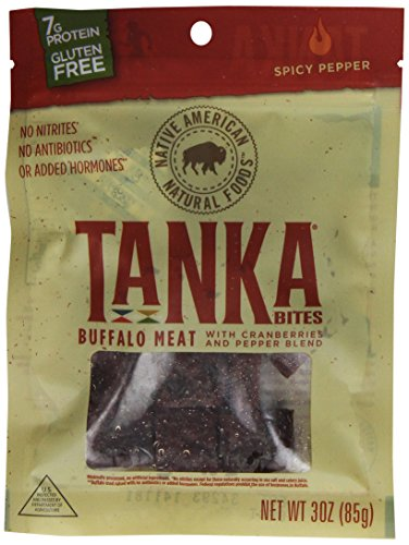 Tanka Bites, Spicy Pepper Blend, 3-Ounce Packages (Pack of 6)