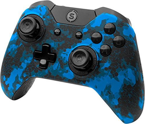 SCUF Infinity1 Digital Camo Blue V2 Controller for Xbox (Scuf Controllers Xbox 1)