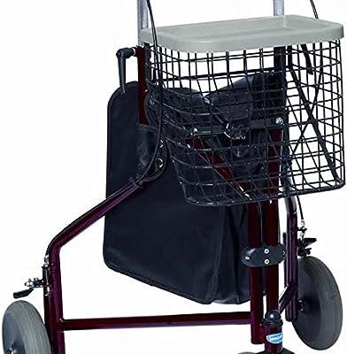 Invacare delta - Andador de tres ruedas, color granate: Amazon.es ...