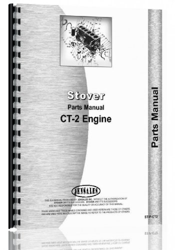 Stover CT-2 Engine Parts Manual
