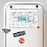 Monthly Whiteboard Planner - Magnetic Dry Erase