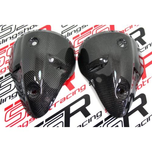 On Sale Ducati Monster Carbon Fiber Exhaust Guard Shield Cover 696