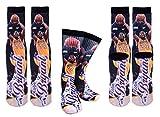 Forever Fanatics Los Angeles Bryant #24 Basketball Crew Socks Sizes 6-13 ✓ Ultimate Basketball Fan Gift (Size 6-13, Bryant #24)