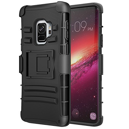 Samsung Galaxy S9 Case, MoKo Kickstand & Swivel...