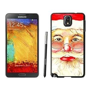 Individualization Santa Claus christmas Black Samsung Galaxy Note 3 Case 2Kimberly Kurzendoerfer