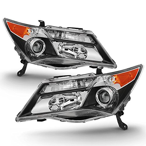 ACANII - For [HID Type] 2007-2009 Acura MDX without Adaptive Headlights Headlamps - Replacement Driver & Passenger Side