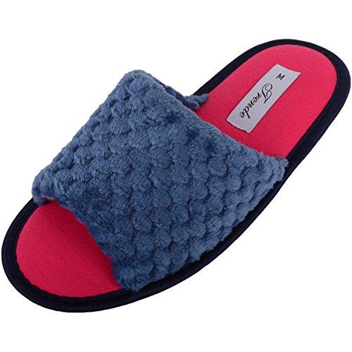 Footwear Bleu Chaussons Femme Pour Marine Absolute O5dIwO