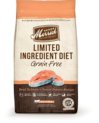 Merrick Dry Dog Food with Vitamins & Minerals for All Breeds , 22 lb, Salmon (Holistic Dog Food compare prices)