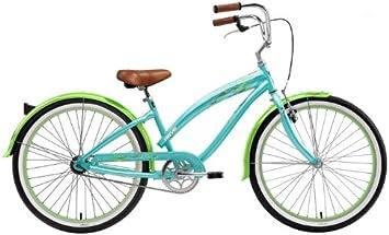 Nirve 3438 - Bicicleta Cruiser para Mujer, Cuadro 16 in, Color ...