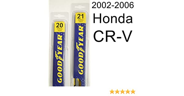 Honda CR-V (2002-2006) Wiper Blade Kit - Set Includes 21