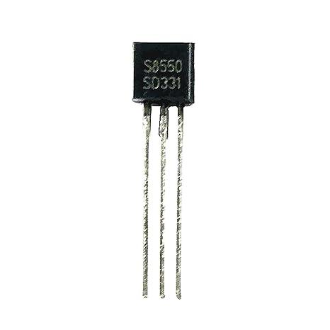 FLAMEER 100pcs S8550 D331 PNP Amplificador De Transistores Componentes Electrónicos Triodo