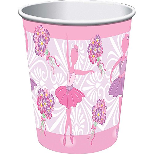 Ballerina 9oz Cups (8 Pack) - Party Supplies
