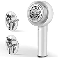 Fansrock Fabric Shaver and Lint Remover, Rechargeable Sweater Shaver Fabric Fuzz Remover with Floating Stainless-Steel…