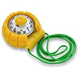 X-11Y Ritchie Navigation 2-Inch Dial Sport Kayak Compass (Yellow)