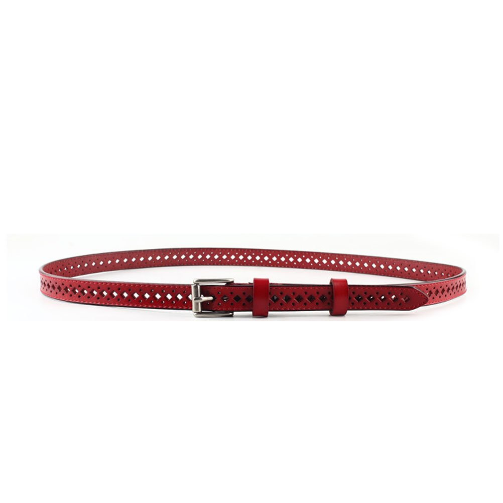 Nanxson(TM) Women's/ Girls' Fashion Style Elegant Hollowed Decorative Slim Waist Band/ Belt PDW0080 (red)