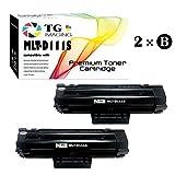 TG Imaging (2 x Black) Compatible 111S MLT-D111S Toner Cartridge, for Samsung Xpress M2020, M2070 Printer