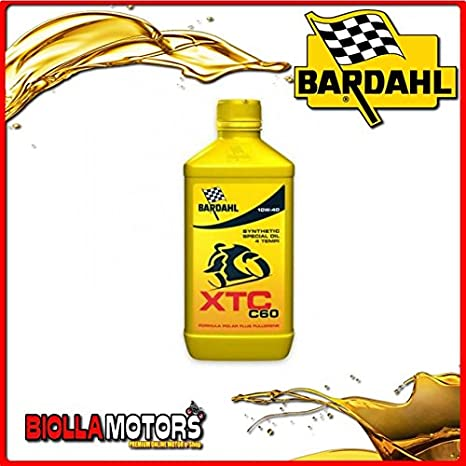 Bardahl XTC C60 - Aceite lubricante10W40Lubricante para moto de 4 ...