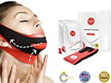 ChinUp Trial Pack by UpYours- Non-Surgical Face Mask, Reduce the Appearance of a Double Chin (Trial Pack - 2X Masks)