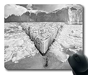 Ice City Mouse Pad Desktop Laptop Mousepads Comfortable Office Mouse Pad Mat Cute Gaming Mouse Pad