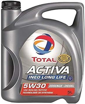 Total Huile Moteur Activa Ineo Long Life 5 W30 Mixte 5 Litres Baumarkt
