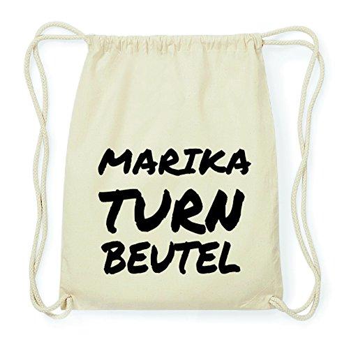 JOllify MARIKA Hipster Turnbeutel Tasche Rucksack aus Baumwolle - Farbe: natur Design: Turnbeutel NLm52mRY