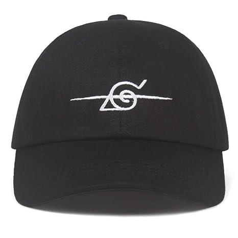 FHSOHG Nuevo Gorro de béisbol con Logo de Naruto Cap Gorra de ...