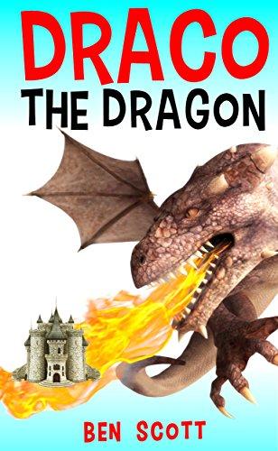 DRACO THE DRAGON: Children books : (beginner reader 1st grade, 3-5 years old) (bedtime story) (Old Halloween Cartoons)
