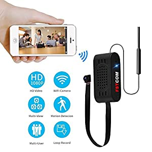 FSTCOM HD 720P/1080P Hidden Spy Camera Charger Wifi Wireless USB Adapter Remote View Motion Detection Alarm Message Home Security Nanny Cam