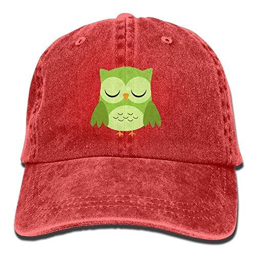 Skull Owl Cowgirl Women Men Cowboy Green Cap Denim Hats for Sport Hat 7SHqt