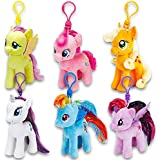 Ty My Little Pony Plush Beanie Babies Set -- Collection of 6 My Little Pony