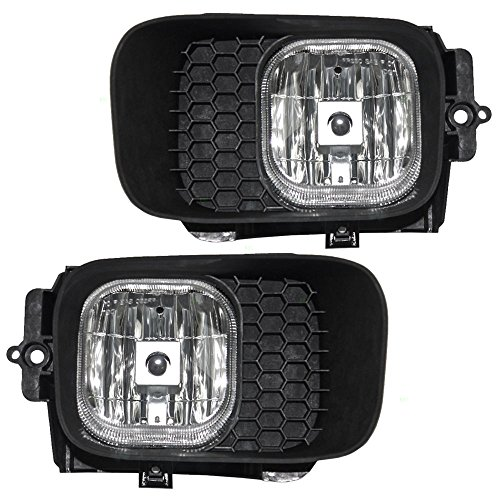 Driver and Passenger Fog Lights Lamps Replacement for Ford Pickup Truck 4L5Z 15200 BB 4L5Z 15200 BA - Ford Ranger Fog Lamps