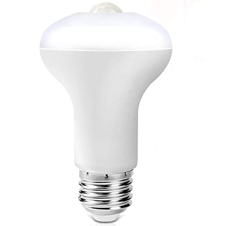 Amazon.com: Bombilla LED con sensor de movimiento, sensor ...