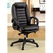 1PerfectChoice Andover Office Computer Executive Chair Padded PU Leather High Back Seat Armrest