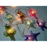 Elephant Mixed Colour Lantern Fairy Light String