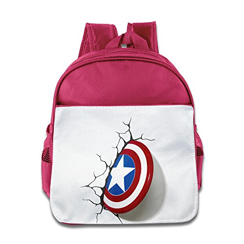 MoMo Unisex Avengers Wall Children Lunch Bag For Little Kids