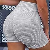 HURMES Women's High Waist Ruched Butt Lifting