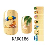 stop chewing nail polish - Brainy Decoration Polish Decals Cute Wraps Nail Stickers Type Code NAD0156