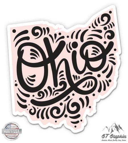 (Ohio Shape Cute Letters Native Local - 3
