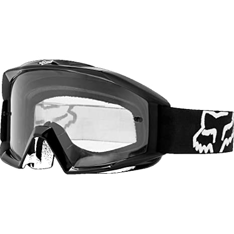 bbcc26c2c3b Amazon.com  Fox Racing Main Adult Moto Motorcycle Goggles Eyewear - Black    One Size  Fox Racing  Automotive