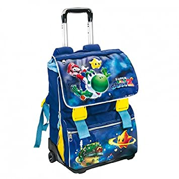 2541c6ce442909 A TROLLEY Rucksack Super Mario Galaxy 2 Original Offer New Expandable:  Amazon.co.uk: Office Products