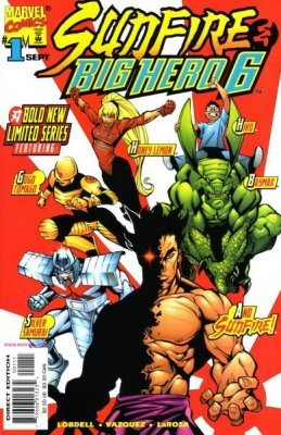 Sunfire and Big Hero Six Issue 1 September 1998 -