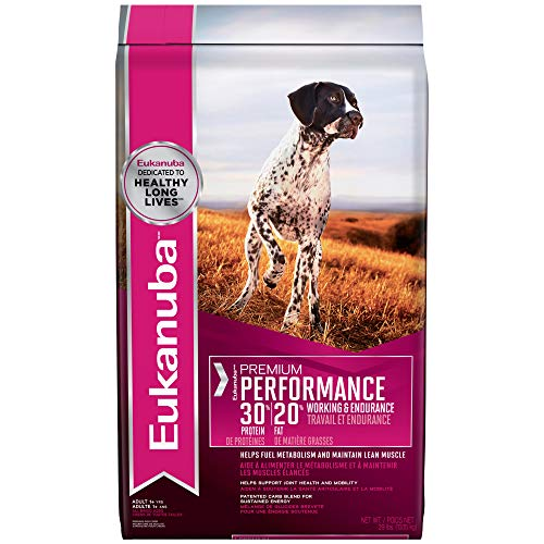 Eukanuba Premium Performance Adult 30/20 Dog Food For Working And Sporting Dogs 29 Pounds