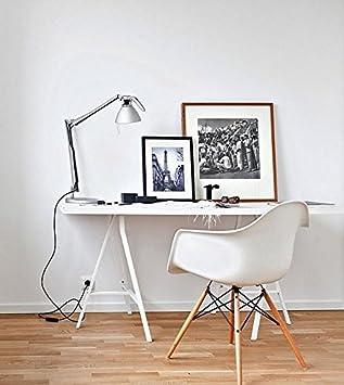 Charles Ray Eames Silla Eiffel Inspirado DAW con el brazo de la Oficina de salas de